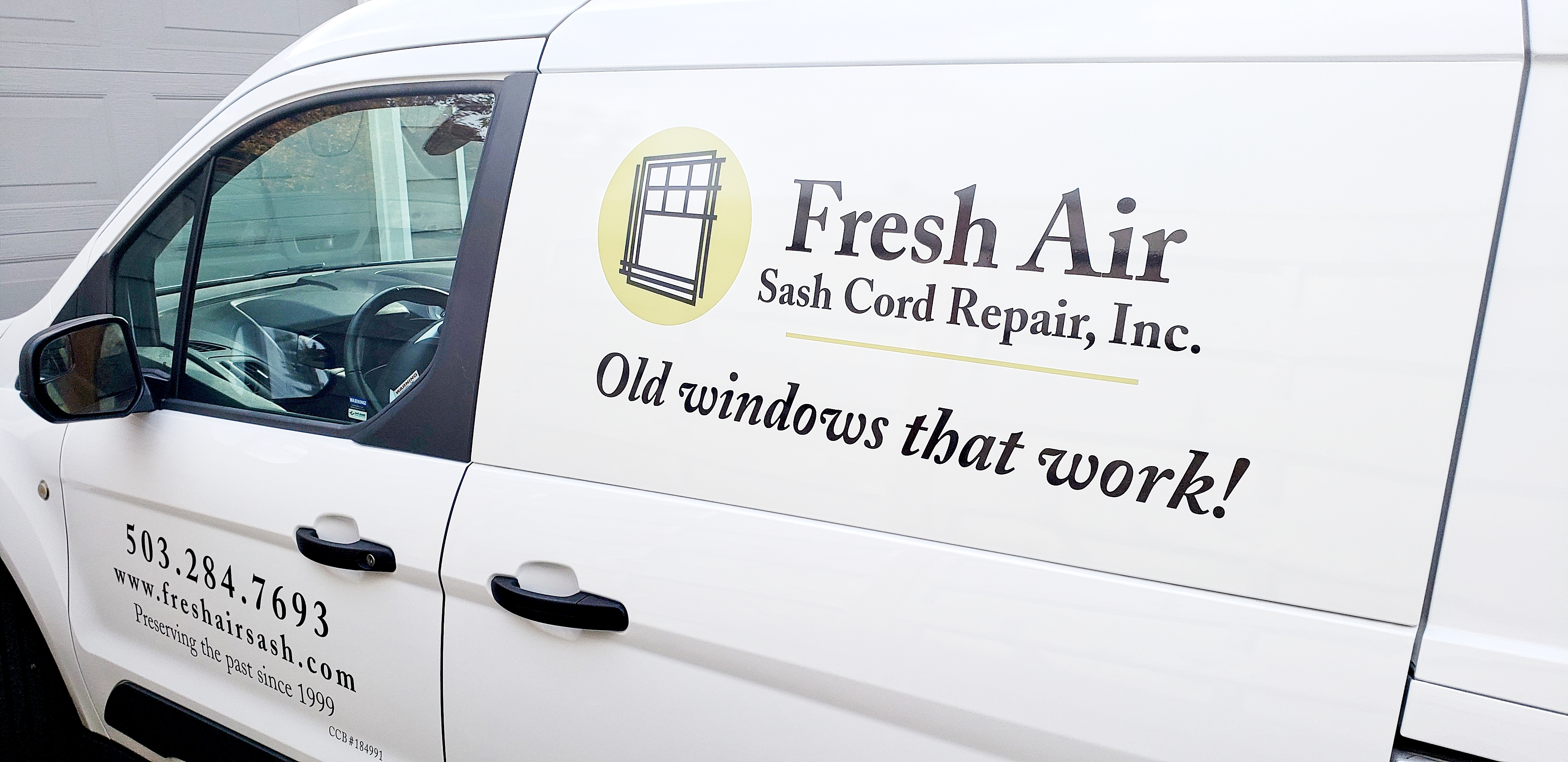 The Fresh Air van