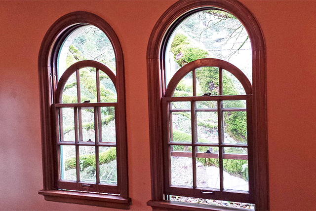 Curved top sash - a stunning and rare treat.