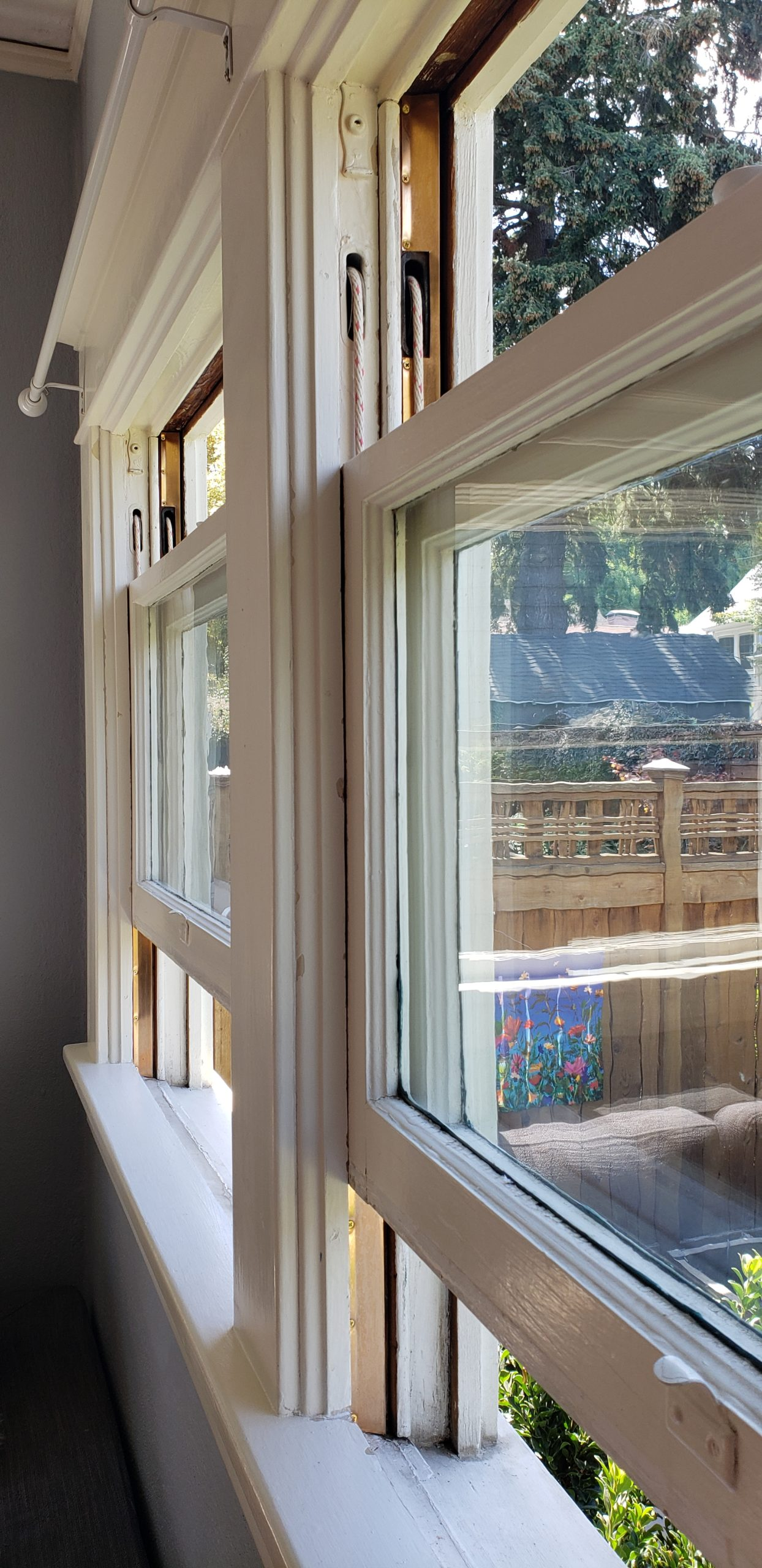 We can add spring bronze weather stripping to your windows to reduce airflow around the sash.